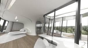 Futuristic Home Transparent Glasses Light Room Futuristic - Futuristic home interior