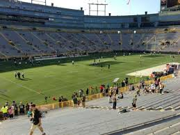 Lambeau Field Section 129 Home Of Green Bay Packers