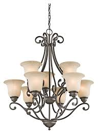 kichler 43226oz camerena large olde bronze 30 inch diameter antique chandelier light 9 lamps loading zoom
