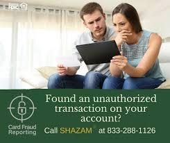 card fraud reporting
