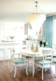 kitchen table chandelier height over round farmhouse white with dining set farmho best kitchen table chandelier