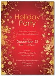Holiday Cocktails Party Invitation