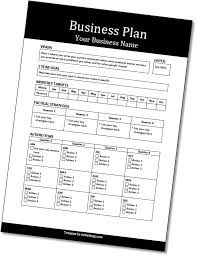 spreadsheet for business plan actionable business plan template dothethings