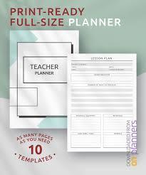Download Printable Teacher Planner Original Style Pdf
