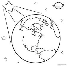 Coloring Sheet Printable Earth Coloring Pages For Kids Coloring