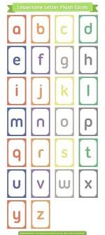 Preschool Flash Cards Printable Alphabet Flashcards For Preschoolers ...