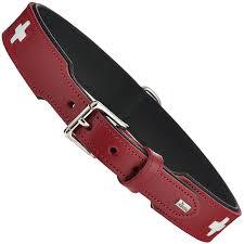 """Ошейник для собак <b>Hunter Smart</b> """"Swiss"""", цвет: красный, длина ..."""