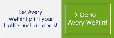 Waterproof Bottle Jar Labels Avery Australia