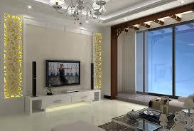 Small Picture Cute Wonderful Living Room Tv Wall Lighting Design Resourcedir