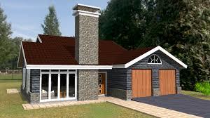 Small Picture Elegant Three Bedroom Bungalow House Plan David Chola Architect