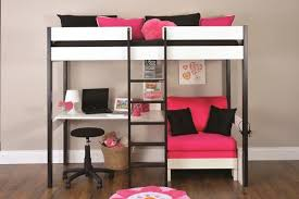 Full Size of Bedroom:appealing Bunk Bed With Desk And Couch In Pink Photo  Of Large Size of Bedroom:appealing Bunk Bed With Desk And Couch In Pink  Photo Of ...