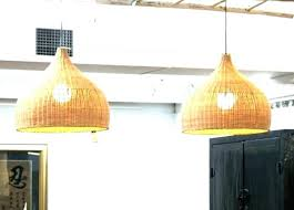 medium size of rattan pendant light fixtures wicker hanging lamp shades white shade lighting enchanting hangin