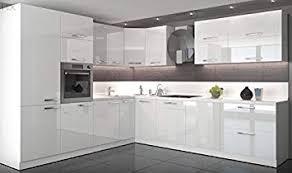 Great Küche L Form Hochglanz 280 Cm X 300 Cm Ohne E Geräten.