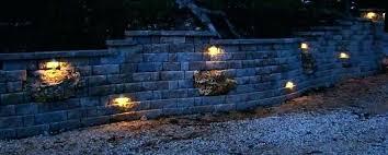 landscape wall lighting lights within retaining designs 13 retaining wall lights retaining wall lights uk