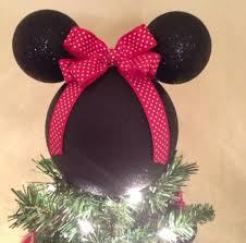 minnie diy disney tree topper neatly done