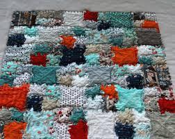 Floor quilt | Etsy & Baby Raggedy Quilt ~ Forest Friends ~ Floor Size Quilt ~ Gender Neutral  Quilt ~ Teal Adamdwight.com