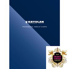 kryolan professional make up charts
