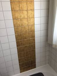 Fliesen Verschönern Bad Und Küche Weiß Gold Resimdo