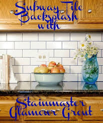 How To Grout Tile Backsplash Stunning This Glamorous Grout Will Make Your Tiled Surfaces Sparkle Hometalk
