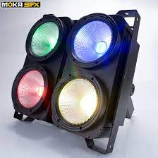 4 eyes 100w stage audience blinder light led RGB 3 IN 1 COB par light dmx  512 3/7/16CH Cool rgb LED Background Light|audience blinder|led  backgroundlight led rgb - AliExpress