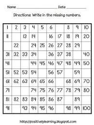 Hundreds Chart Activity Pack A Free Download Math