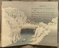 kenneth spencer research library blog acirc sword and blossom poems image of poem snow from sword and blossom poems