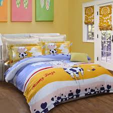 dark blue white gold red and sky blue farm animal themed cow monogrammed cloud heart polka dot print twin queen size bedding sets