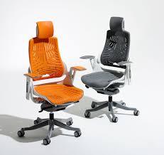 orange office furniture. Elastomer Offce Chair Zoo Orange With Headrest Office Furniture