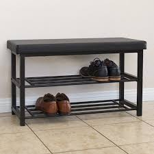 metal storage bench. Delighful Metal Best Choice Products 2Tier 220lb Capacity Metal Storage Bench Shoe  Organization Rack W Intended