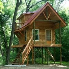 small cabin on stilts plans | Cabin On Stilts | Cabin on Stilts