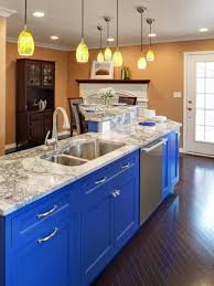 counter kitchen lighting. Blue Kitchens With Dark Cabinets Cool Black Shape Granite Counter Kitchen White Light Brown Wooden Sets Lighting