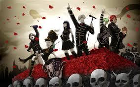anime crossover kill la kill parade decim my chemical romance