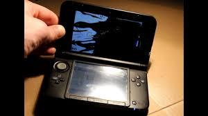 3ds Xl Blue Light No Screen Nintendo 3ds Xl First Gen Top Screen Replacement Very Detailed 46 18