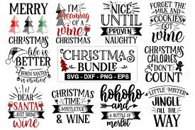 777 christmas free vectors on ai, svg, eps or cdr. Christmas Bundle Graphic By Designdealy Com Creative Fabrica