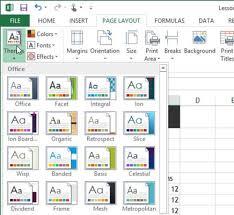 Frame Theme Excel 2013 Under Fontanacountryinn Com