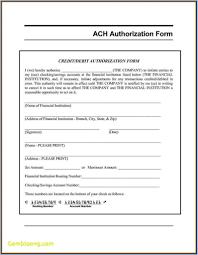 Deposit Templates Ach Authorization Form Templateirecteposit Vendor Word