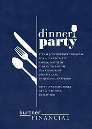 corporate dinner invite darling dinner party corporate event invitations in baltic or dark