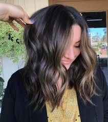 Dark Hair Highlights Ideas