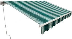 Tende Da Balcone In Plastica : Tenda da sole fissa alba l xp mt bianco verde
