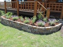 Small Picture Stone Flower Beds walls patios steps stepping stones