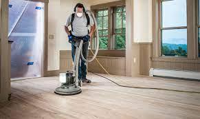 mastering a buffer for floor sanding
