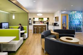 latest trendy corporate office design model. Plain Model Office U0026 Workspace Incredible Break Room Ideas And Creativity  Comfortable Brown Round Sofa On Latest Trendy Corporate Design Model Pinterest