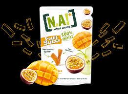 Fruit Sticks mangue passion, Snack 100% naturel sans sucres ajoutés ...