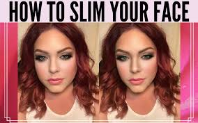 how to use face slimming and contour
