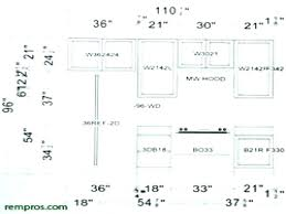 standard kitchen cabinet sizes chart large size of base height door ikea