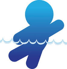 Image result for swimming in water clipart