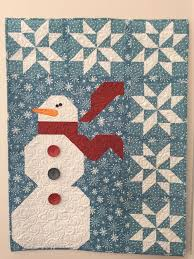 Best 25+ Winter quilts ideas on Pinterest | Snowman quilt, Quilt ... & Snowman wall hanging by Glo in the Dark Quilting. Ho Ho Let it Snow pattern  from Art to Heart patterns. Adamdwight.com