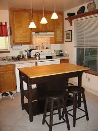 Brilliant Kitchen Wood Island Modern Inside Portable With Seating