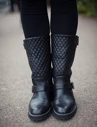 Chanel Biker Boots 37.5 - &  Adamdwight.com