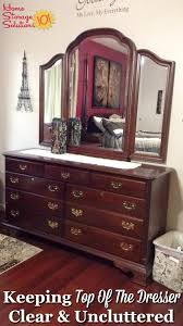 Dresser top storage Organizing Tips For Keeping The Top Of Your Dresser Clear And Uncluttered on Home Storage Solutions Home Storage Solutions 101 How To Declutter Your Dresser Top